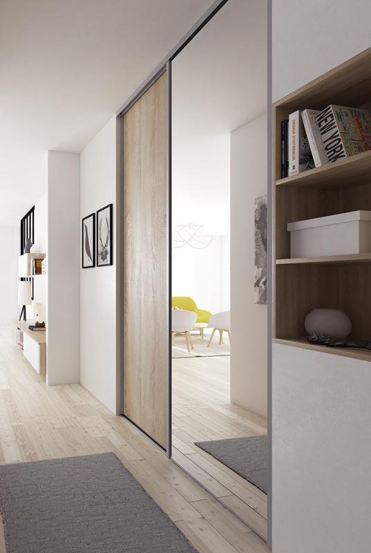 Portes de placard miroir portes placards des largeurs for Porte pliante miroir placard