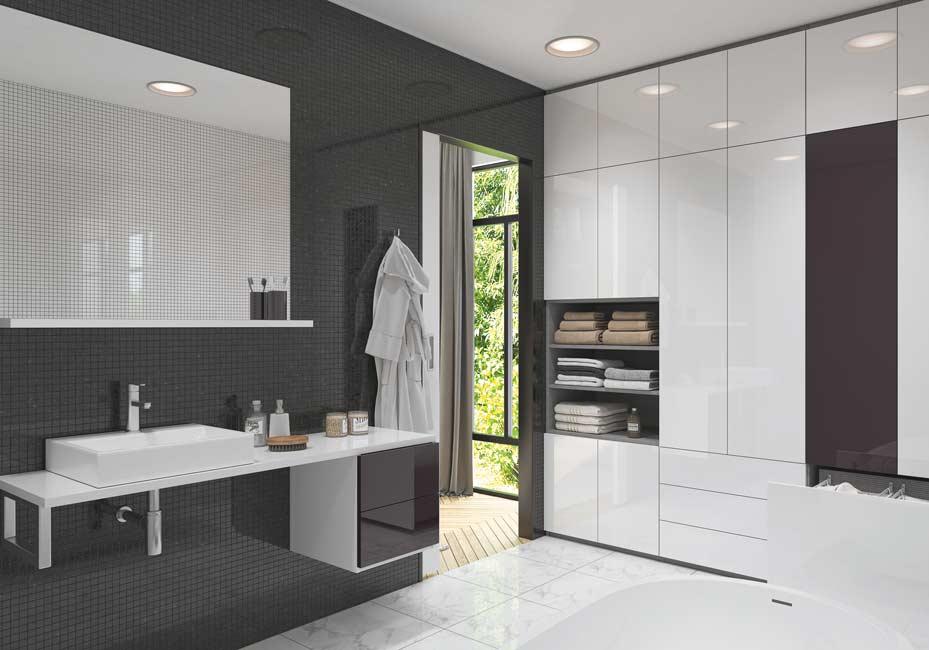 Suite parentale chic - Suite parentale dressing salle de bain ...